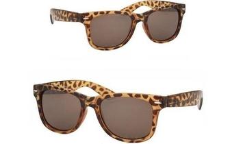 Óculos de Sol Retro Leopardo apenas 7,90€! Entrega em todo o País!