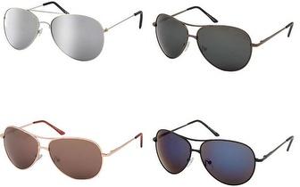 Óculos de Sol Espelhados Modelo Aviador por apenas 10,90€!