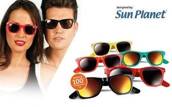 Óculos de Sol SUN PLANET com bolsa por apenas 9,90€! Entrega em todo o País!
