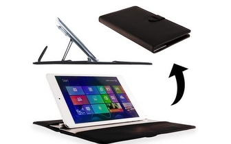 Bolsa com suporte para Tablet 2 em 1 com três ângulos apenas 14,90€! Entrega em todo o País!