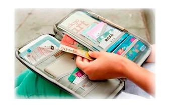 Organizador de Documentação de Viagem apenas 6,90€! Entrega em todo o País!