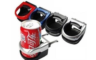 Pack com 2 Suportes Bebida para Automóvel por 7,90€!
