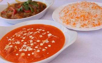 Jantar Indiano para 2 pessoas por apenas 11,45€/pessoa junto à Av. 24 de Julho!