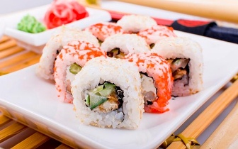 All You Can Eat de Sushi ao Jantar por 9,90€ na Av. 5 de Outubro!
