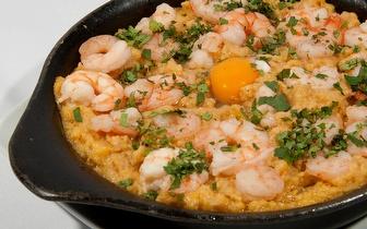 Jantar com 20% de desconto em fatura no Restaurante Costa Brava na Benedita!