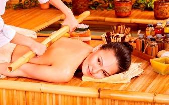 Massagem de Relaxamento com Bambus ou Velas por 25€!