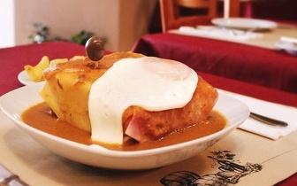 Menu Jantar Francesinha de Leitão para 2 Pessoas por 20,70€ em Carcavelos!
