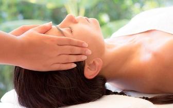 Indian Head Massage + Tratamento Capilar Regeneração com Led, por apenas 18,90€ na Quinta do Conde!