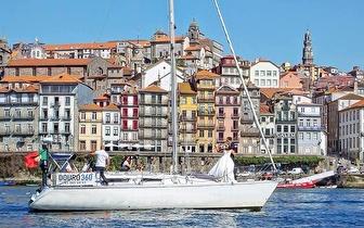 Passeio de Veleiro para 2 pessoas com flute de espumante por 45€ no Douro!