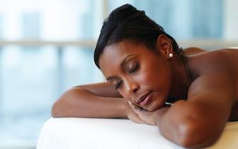 Massagem de relaxamento com 60% de desconto!
