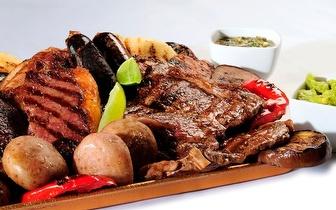 Grelhada Mista de Carnes para 2 pessoas ao Almoço por 15,50€ junto à Av. de Roma!