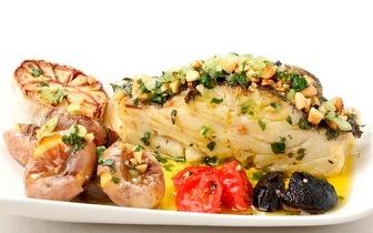 Menu Completo para 2 de Bacalhau com Broa ao Almoço por apenas 19€ em Braga!