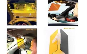 Condução segura com a Viseira Pára-sol para o carro por 9,90€!