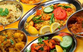 Sabores da Índia e do Nepal ao Jantar num Menu para 2 por 17€ em Alcântara!