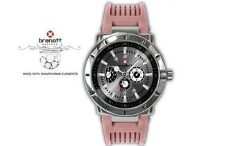 Relógio Brenatt com cristais Swarovski Elements® - Modelo Boreal por 14,89€ | Entrega em todo o País!
