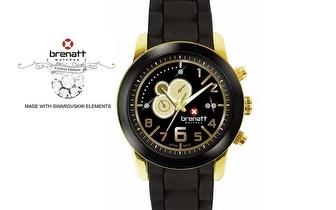 Relógio Brenatt com cristais Swarovski Elements® - Modelo Topaz por 14,89€ | Entrega em todo o País!