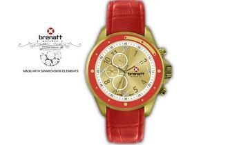 Relógio Brenatt com cristais Swarovski Elements® - Modelo Sun por 14,89€ | Entrega em todo o País!
