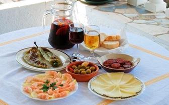 Petiscos Variados + Sangria + Sobremesa para 2 pessoas por 30€ na Casa do Páteo!