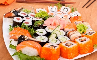 All You Can Eat de Sushi ao Almoço por 7,50€/pessoa na Av. 5 de Outubro!