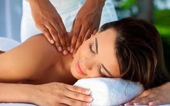 Massagem à escolha + Limpeza Facial + Chá e Bombons por 14,90€ na Maia!