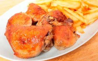 Menu Almoço Take Away com Bebida para 2 pessoas por 9€ em Benfica!