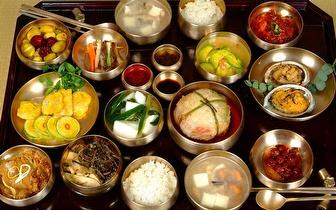 Menu Coreano Completo ao Almoço para 2 Pessoas por 19,60€ nas Colinas do Cruzeiro!