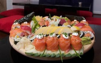 All You Can Eat de Sushi para 2 Pessoas + Bebida + Sobremesa + Café por 36€ em Alcântara!