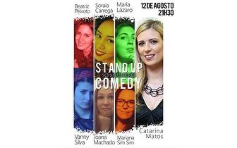 Só Mulheres Stand Up Comedy por 7€ dia 12 Agosto no Villaret!