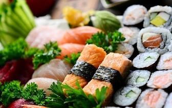 Almoço de Sushi para 2 Pessoas: Combinado 48 Peças por 19.95€, na Sobreda!