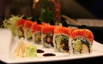 Sushi ao Almoço: Combinado 23 Peças por 11.55€ na Sobreda!