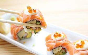 Jantar de Sushi para 3 Pessoas: Combinado 68 Peças por 33.25€ na Sobreda!