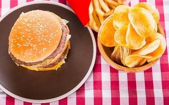 Menu de Hambúrguer por 4,99€ ao Jantar em Mem Martins!