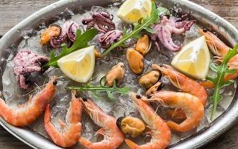 Travessa de Marisco por 12€ por pessoa na Amadora ao Jantar!