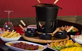 Fondue de Carnes ao almoço ou jantar para 2 pessoas por 29€ no Parque das Nações!