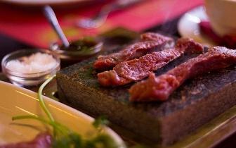Naco na Pedra ao almoço ou jantar por 17€ no Parque das Nações!