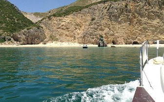 Transporte de Barco para a Praia Ribeiro do Cavalo por 12€ pessoa!