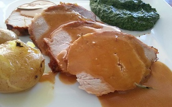 Polvo à Lagareiro ou Lombinhos com Mel para 2 ao Jantar por 19€ em Telheiras!