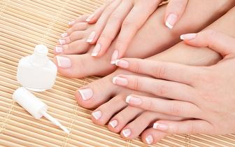 Manicure + Pedicure com remoção de Calosidades por 14€ na Amadora!