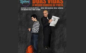 2 Bilhetes para 'Duas vidas o mesmo número de porta' por 9,80€ no Lisboa Comedy Club!