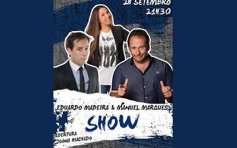 Espetáculo com Manuel Marques, Joana e Eduardo Madeira por 7€ no Teatro Villaret!