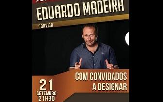 Stand Up Comedy com Eduardo Madeira por 7€ no Teatro Villaret!