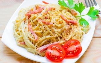 Menu de Massas Italianas ao Almoço para 2 pessoas por 19€ na Beloura!