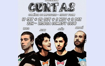 Comédia de Improviso 'Curtas' por 7€ no Lisboa Comedy Club!