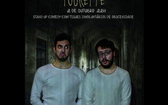 2 Outubro: Stand-up Comedy 'Tourette' por 7€ no Lisboa Comedy Club!