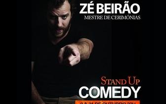 9 e 31 Outubro: Stand-up Comedy 'Zé Beirão' por 7€ no Lisboa Comedy Club!
