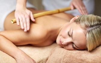 Massagem de Relaxamento com Bambu ao Corpo inteiro por 15€ em Odivelas!