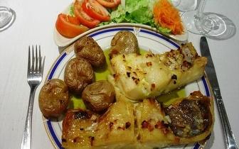 Jantar completo para 2 pessoas por 19€ em Fátima!