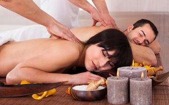 Massagem de Relaxamento para Casal ao Corpo Inteiro por 38€ em Leiria!