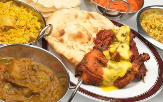 Sabores Indianos num Menu para 2 Pessoas ao Almoço por 18€ em Oeiras!