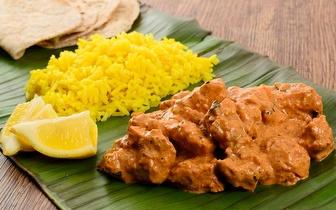 Menu Indiano para 2 Pessoas ao Jantar por 18€ em Oeiras!